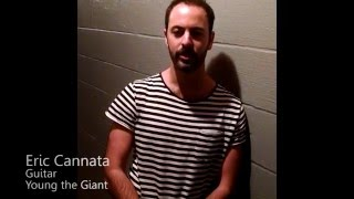 Young the Giant's Eric Cannata on the REV33