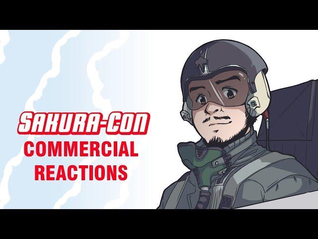 Sakura-Con Commercials | Panda Reactions