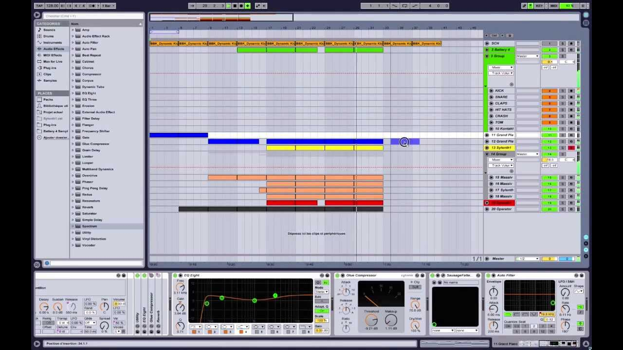 How to make music like Avicii, Alesso, Calvin Harris, Vicetone. Tutorial in Ableton Live 9