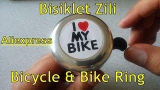 Aliexpress Bisiklet Zili Bicycle & Bike Ring - I Love My Bike Printed Bike Alarm Warning