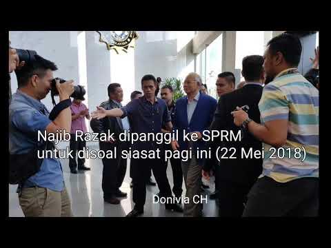 Video Eksklusif DS Najib Razak dipanggil ke SPRM