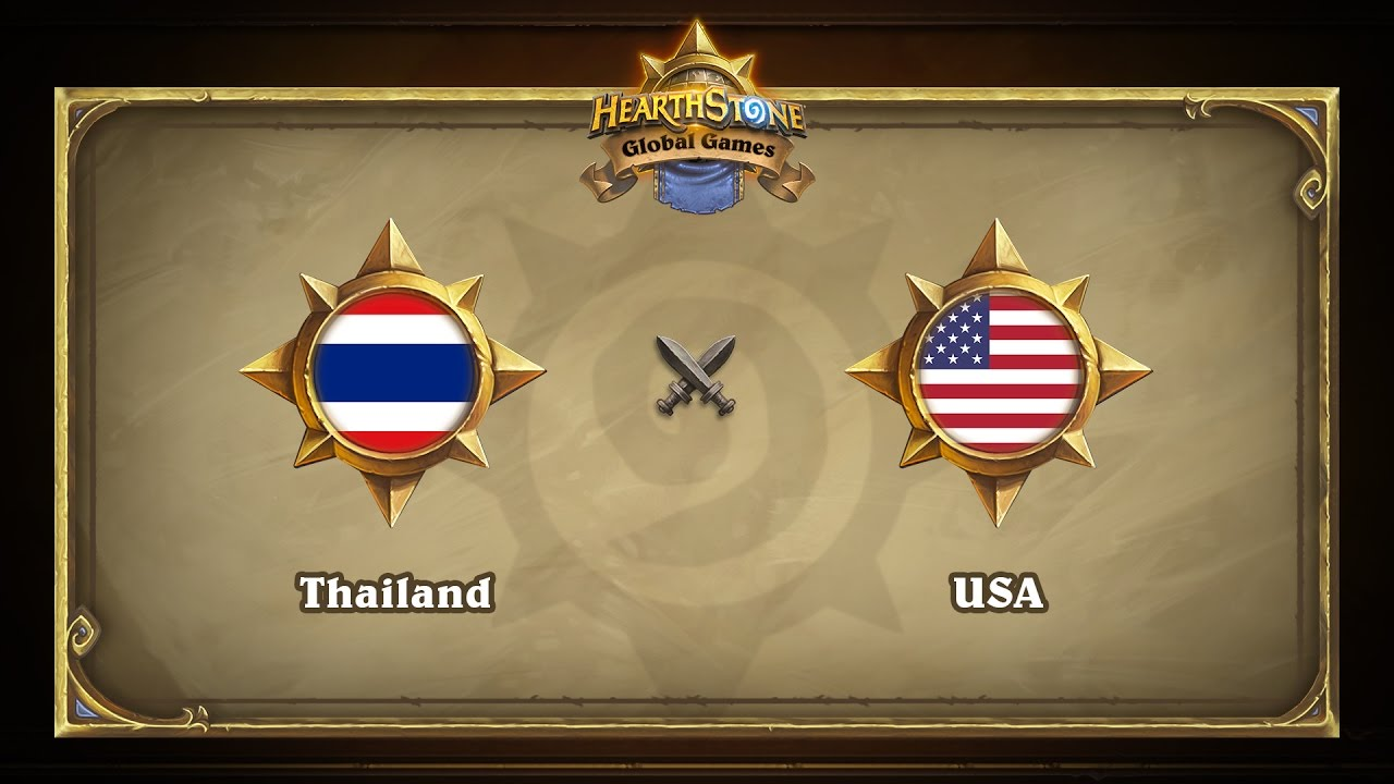 Тайланд vs США | Thailand vs USA | Hearthstone Global Games (19.05.2017)