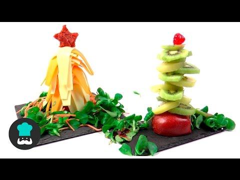 Recetas fáciles y rápidas - Árboles de Navidad comestibles