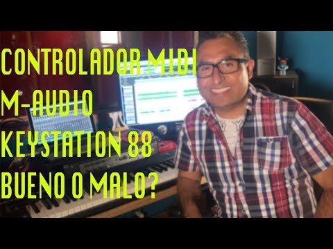 CONTROLADOR MIDI M-AUDIO KEYSTATION 88 - BUENO O MALO?