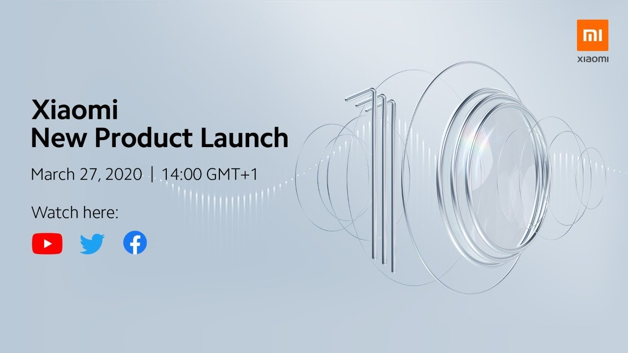 Xiaomi New Product Launch 2020