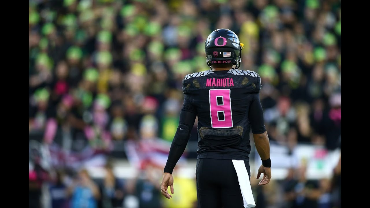 The One and Only, Marcus Mariota. Photo property of Getty Images, by Jonathan Ferrey.