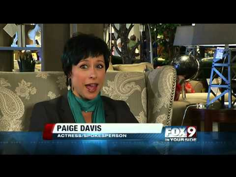 Paige Davis 2013 FOX9 talks to Paige Da...
