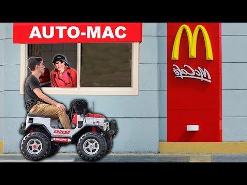 🚘Prank en McDonald's🍔 Bromas en Autoservicio parte 1
