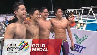 Swimming Men's 4 x 200m freestyle relay finals | 29th SEA Games 2017