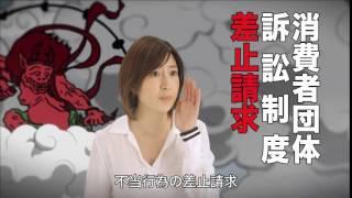 南沢奈央 消費者庁 CM.