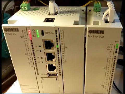 Обзор контроллера ПЛК210