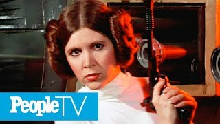 Carrie Fisher Remembered By Her 'Star Wars: The Last Jedi' Castmates | PeopleTV
