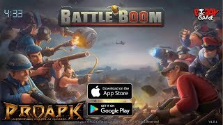 Battle Boom Gameplay Android / iOS (Real-time PVP)