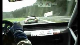 540 degree high speed spin after contact by Tõnu Soomer BMW GT