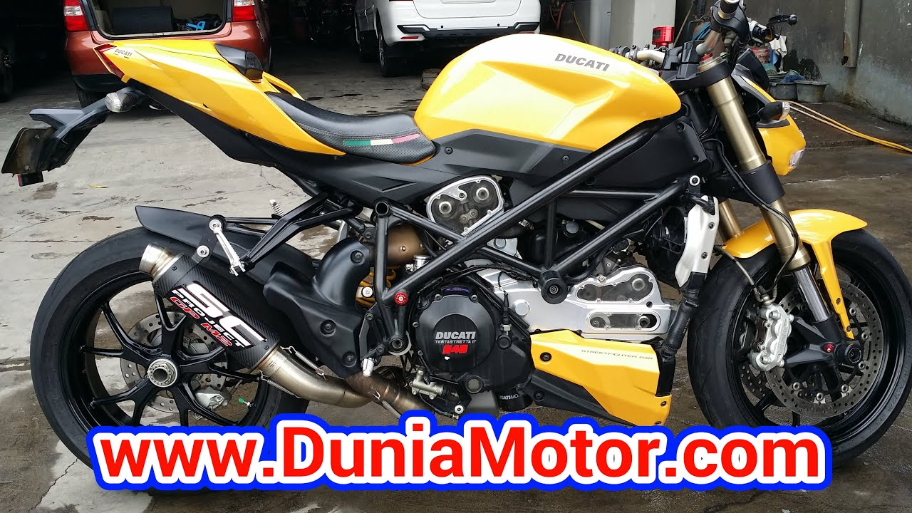 Ducati Streetfighter Akrapovic Exhaust
