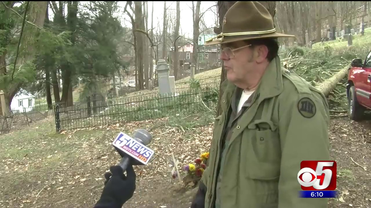 cemetery groundskeeper says he can t do it all on his own youtube