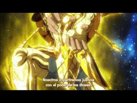 Saint Seiya: Soul Of Gold - La  Exclamación de Athena con las Armaduras Divinas