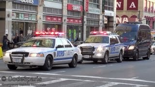 NYPD Counter-Terrorism Unit, Police Escort