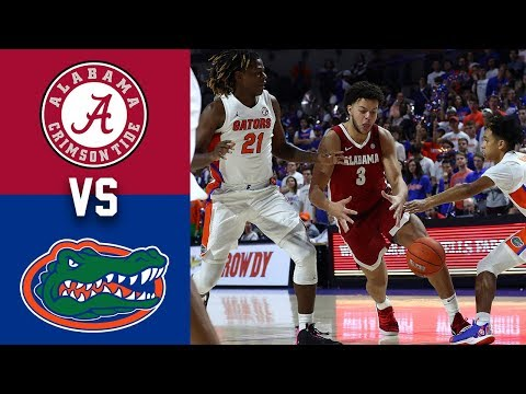 2020 College Basketball Alabama Vs Florida Highlights