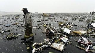 """تحطم طائرة لـ""""فلاي دبي"""" بروسيا ومصرع 62 راكبا"""