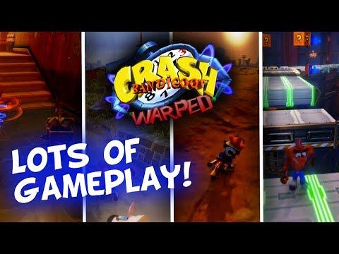 Crash Bandicoot N. Sane Trilogy: WARPED! Tomb Wader, Double Header, Orange Asphalt & Gone Tomorrow