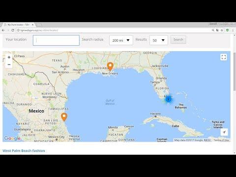 Store locations plugin wordpress