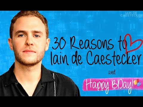 30 Reasons to Love Iain de Caestecker and BDay Wishes  IDCBR
