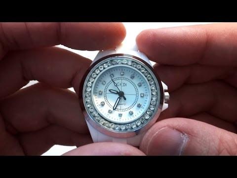 Женские керамические часы из Китая