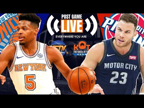 Dennis Smith Jr's Career Night, Knicks Fall To Pistons| REPLAY Mp3