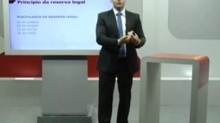 Direito Penal - Princípio da Reserva Legal - Profº Alexandre Salim