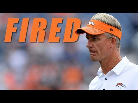Mike McCoy Fired as Broncos O.C.