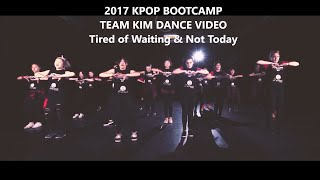 【THE ACADEMY AU】TEAM KIM Jinhwan Music Video - Kpop Boot Camp Australia 2017 - BTS NOT TODAY