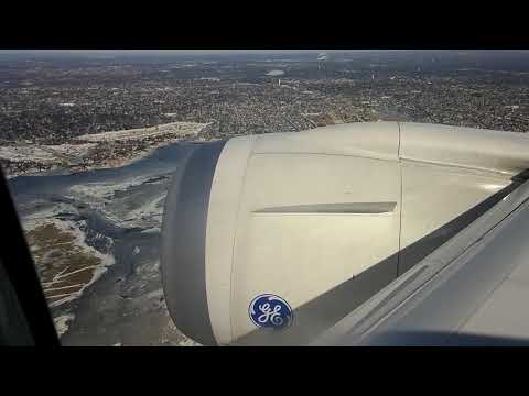 AeroMexico Boeing 787-8 Takeoff and Landing: Mexico City to New York City