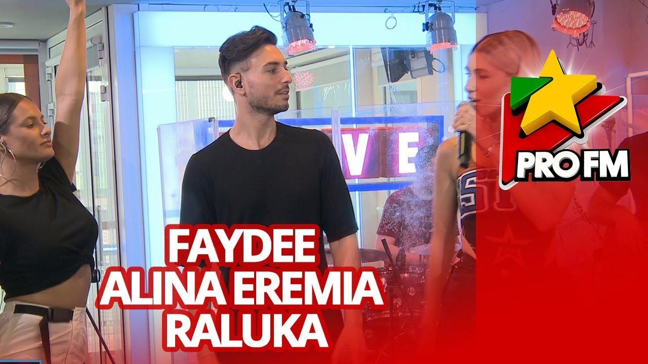 Faydee x Alina Eremia x Raluka - Enchante  | ProFM LIVE Session