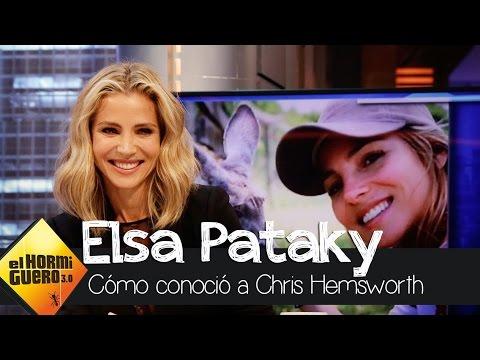 """Elsa Pataky: """"En Australia hay todo tipo de bichos gigantes"""" - El Hormiguero 3.0"""
