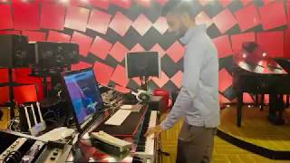 #rajinikanth #darbar  #anirudh Thalaivar theme Anirudh Ravichandran composing Darbar music