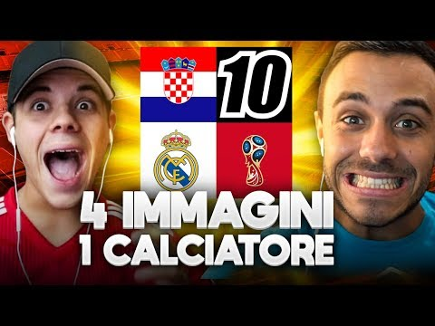 INDOVINA IL CALCIATORE CHALLENGE!!! - 4 IMMAGINI 1 CALCIATORE | w/Fius Gamer