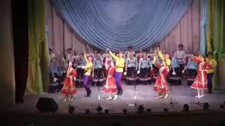 """Ансамбль песни и танца """"Искорка"""" муз. и сл. народные вок.- хор. композиция """"Казачья плясовая"""""""