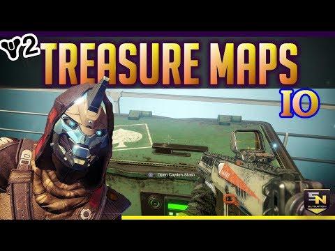 destiny 2 treasure map guide