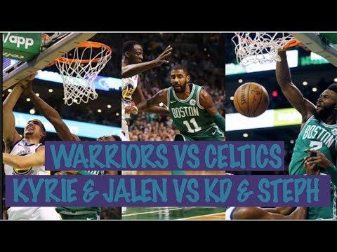 GOLDEN STATE WARRIORS VS BOSTON CELTICS HIGHLIGHT. KYRIE & JAYLEN B SHINE VS STEPH, KD