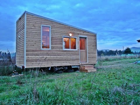 Beautifully Simple Tiny House In British Columbia