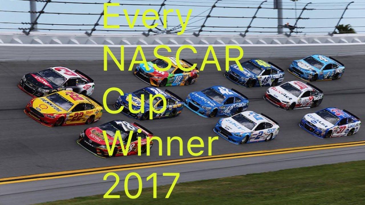 Every 2017 Monster Energy NASCAR Cup Series Winner   Daytona Clash ...