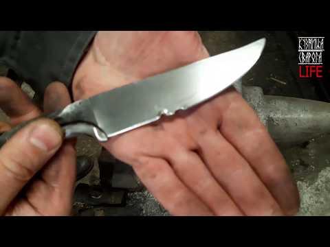 тест ножа из дамаска миллион слоев