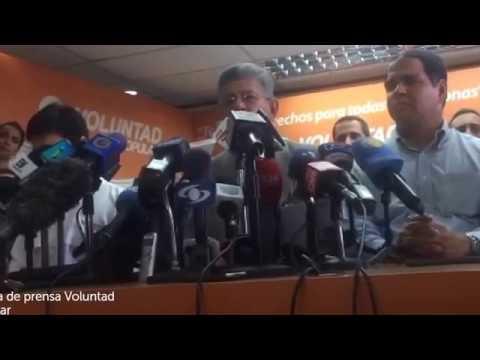 Rueda de Prensa: Maria Corina Ramos Allup y Lilian Tintori (Voluntad Popular)