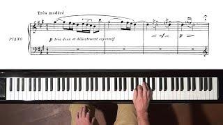"""Debussy """"The Little Shepherd"""" Paul Barton, FEURICH HP piano"""