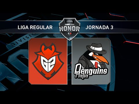 G2 Vodafone vs The Penguins Mafia - #LoLHonor3 - Mapa 1 - Jornada 3 - T11