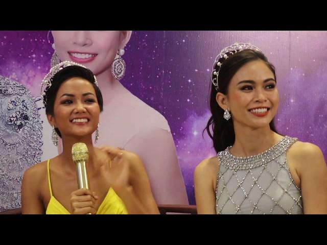 Hoa hậu H'Hen Niê và Mâu Thủy đi làm đẹp: H'Hen Niê nói không với mỹ phẩm trắng da