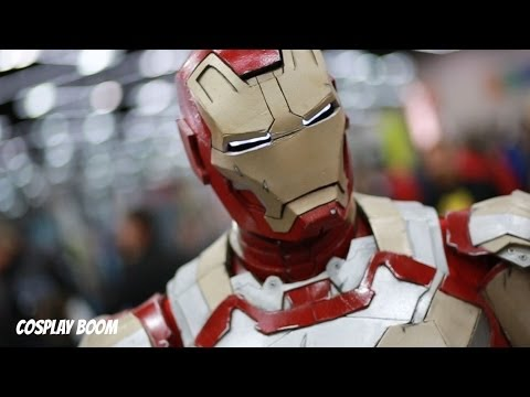 Iron Man Cosplayer Says To 'Have No Fear'
