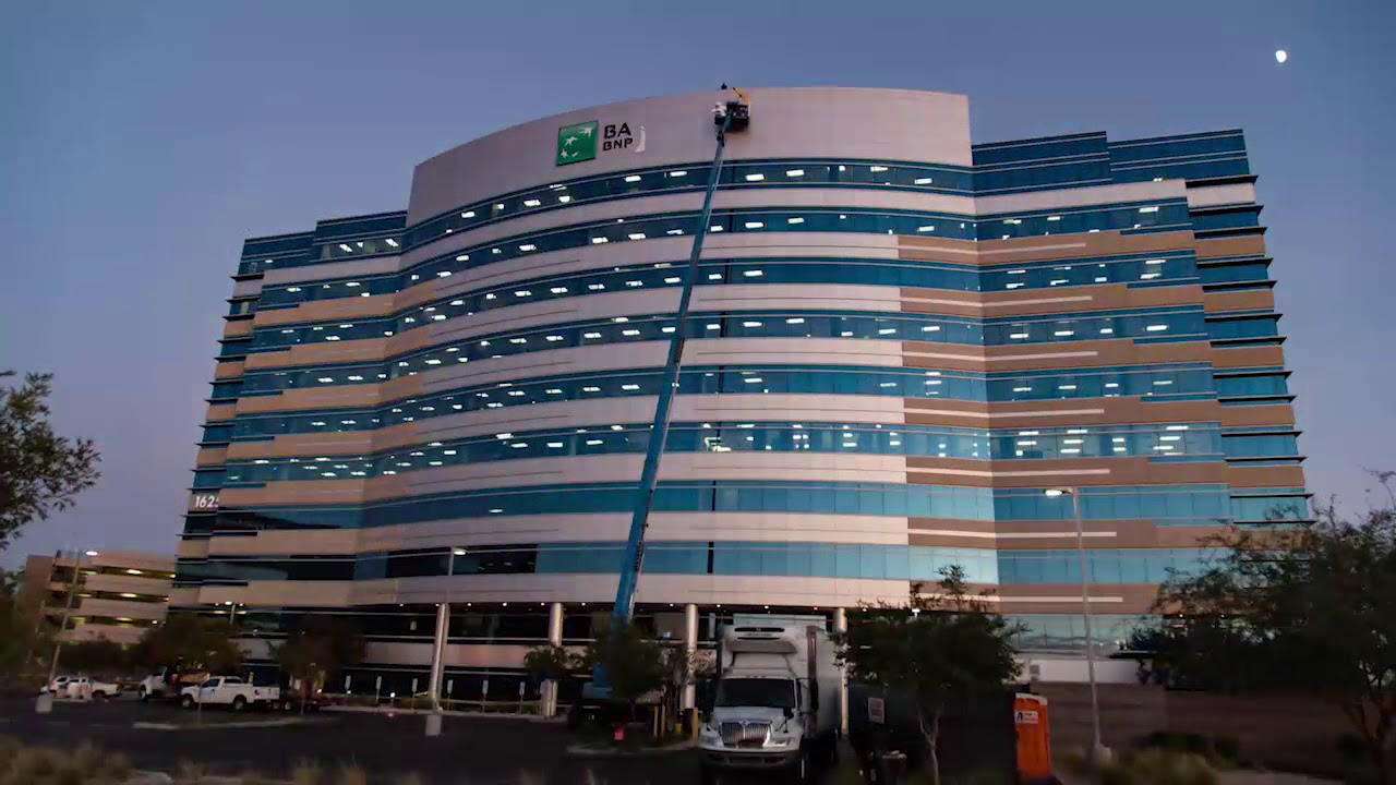 Bank Of The West New Office Facility In Tempe Az Youtube