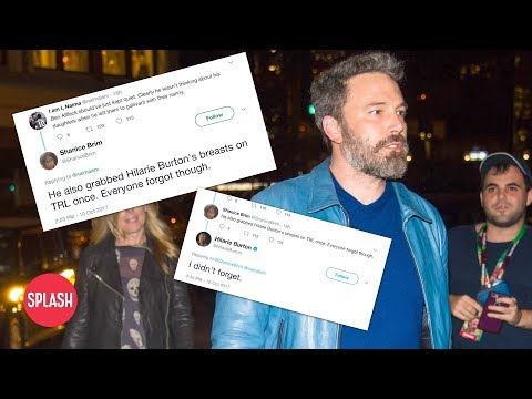MTV Host Claims Ben Affleck Groped Her | Daily Celebrity News | Splash TV